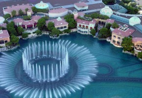 Самые красивые фонтаны
